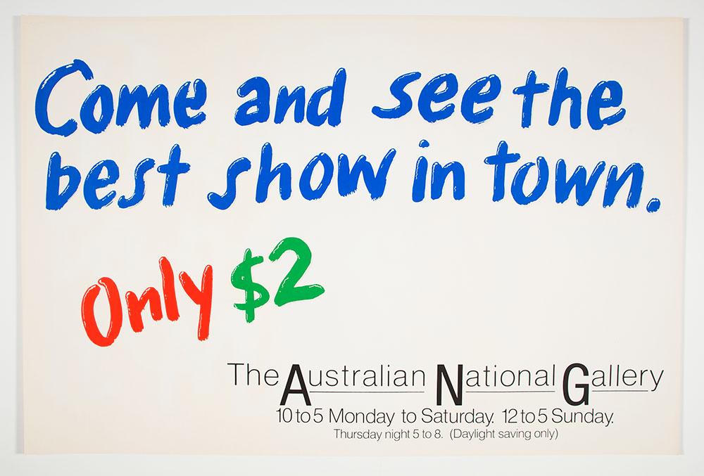 Australian National Gallery Best Show 1982